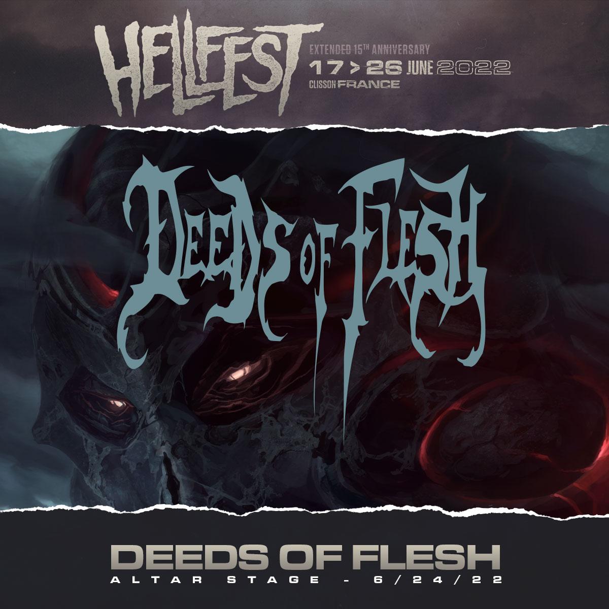 Deeds at Hellfest 2022